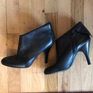 Nine West Stiletto fold over booties